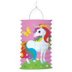 Drop Lantern Unicorn Paper 28 cm