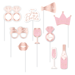 Photo Booth Kit Hen Party Paper 10 Parts