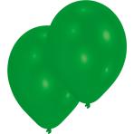 50 Latex Balloons Standard Green 25.4 cm/10''