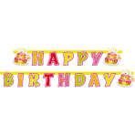 Banner Happy Birthday 180 x 15cm