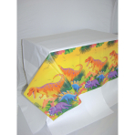 Tablecover Prehistoric Party Paper 137 x 259 cm