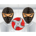 3 Honeycomb Balls Ninja