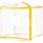 Cubez Gold Trim Foil Balloon G20 Bulk 38cm x 38cm