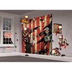 Decoration Kit Wall Creepy Carnevil Paper / Plastic 33 Pieces 82.5 x 165 cm / 10 - 38 cm