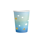 8 Cups Oh Baby Boy Paper Hot Stamped 250 ml