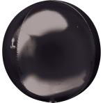 Orbz Black Foil Balloon G20 Bulk 38 x 40 cm