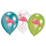 "6 Latex Balloons Flamingo Paradise 27.5 cm / 11"""