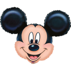 Mini Shape Mickey Mouse Foil Balloon A30 Bulk