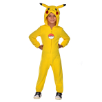 Child Costume Pokemon Pikachu Suit Boy 4 - 6 Years