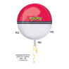 "Orbz ""Pokéball"" Foil Balloon, G40, packed, 38x40 cm"