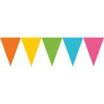 Pennant Banner Multicoloured Paper 457 x 17.7 cm