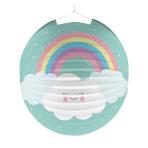Lantern Rainbow & Cloud Paper 25 cm