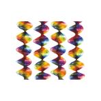 4 Rotor Spirals Rainbow Foil 5 x 60 cm