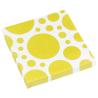 20 Napkins Sunshine Yellow Dots 33 x 33 cm