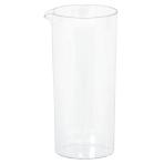 6 Mini Pitchers Plastic Clear 221 ml