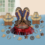 Table Decorating Kit Western