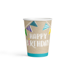8 Cups My Birthday Party Paper 250 ml