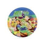 8 Plates Half Shell Heroes, 18cm