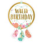 8 Invitations & Envelopes & Stickers Boho Birthday Girl Paper 10.7 x 15.8 cm