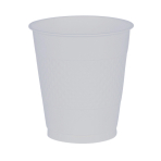10 Cups Plastic Clear 355ml