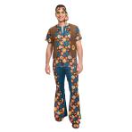 Adult Costume 60's Groovy Hippy Man Size Xl