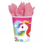 8 Cups Unicorn Paper 250 ml