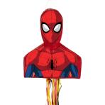 Pull Pinata Spiderman Paper / Plastic 35.5 x 46 x 13.5 cm