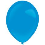 "50 Latex Balloons Decorator Standard Bright Royal Blue 35 cm / 14"""