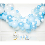 DIY Balloon Garland Blue 70 Balloons