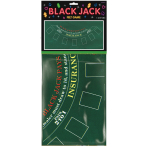 Black Jack Felt Game Tablecover Place Your Bets