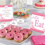 Buffet Kit Communion Church pink 12 parts