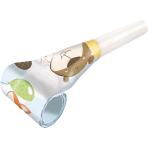 8 Blowouts Fox & Beaver Plastic / Paper 30 cm