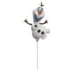 Mini Shape Frozen Olaf Foil Balloon A30 Air Filled