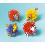 8 Woolly Zoo Animals Plastic 7 x 4 x 4 cm