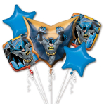 "Bouquet ""Batman"" Foil Balloon, P75, packed"