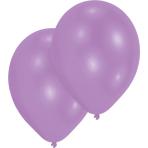 "10 Latex Balloons Standard New Purple 27.5 cm / 11"""