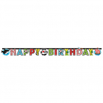 Letter Banner Pirate Paper 180 x 15 cm