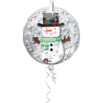 "Insider""Snwman""Foil Balloon, P60, packed, 60x60cm"
