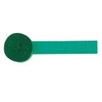 Crepe Streamer Holiday Green 4.4 x 2470 cm