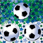 Confetti Championship Soccer Foil / Paper 14 g