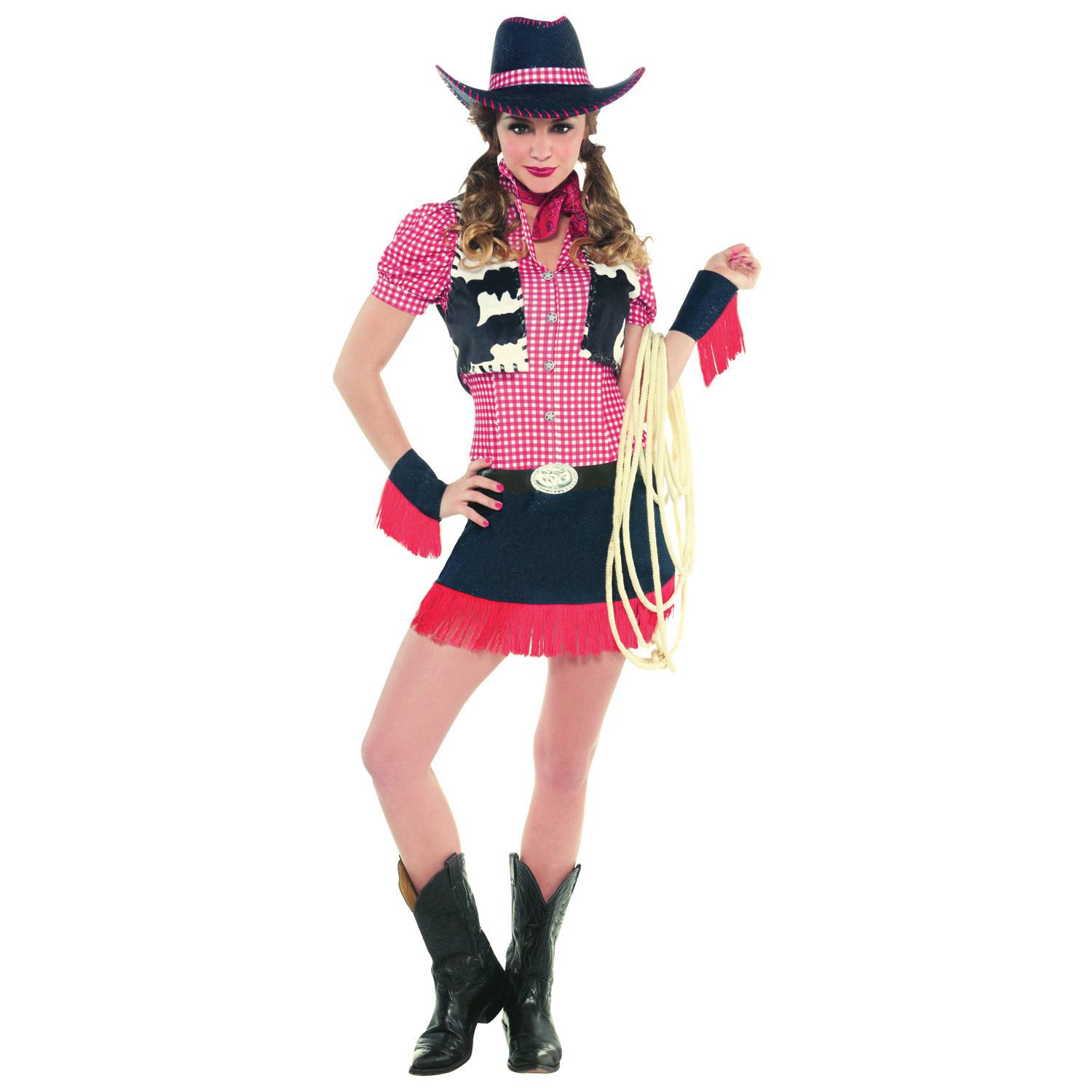 8c1bce978d7 Ladies' Costume Rawhide Cowgirl Size L : Amscan Europe