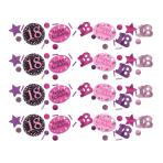 Confetti 18 Sparkling Celebration Pink Foil / Paper 34 g