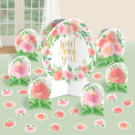 Table Decoration Kit Floral Baby 27 Parts
