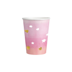8 Cups Oh Baby Girl Hot Stamped 250 ml