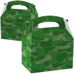 Party Box Camouflage Paper