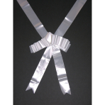 Car Ribbon White Fabric 600 cm