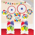Decoration Kit Balloon Bash Paper / Foil 10 Pieces 304 cm / 25.4 - 35.5 cm