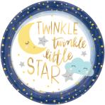8 Plates Twinkle Little Star 27cm