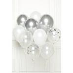 DIY Balloon Bouquet Silver