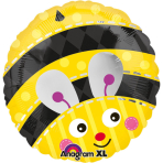 Standard Cute Bumblebee Foil Balloon S40 Packaged
